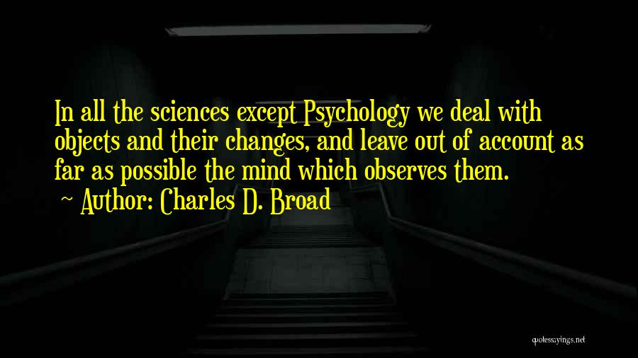 Charles D. Broad Quotes 977352