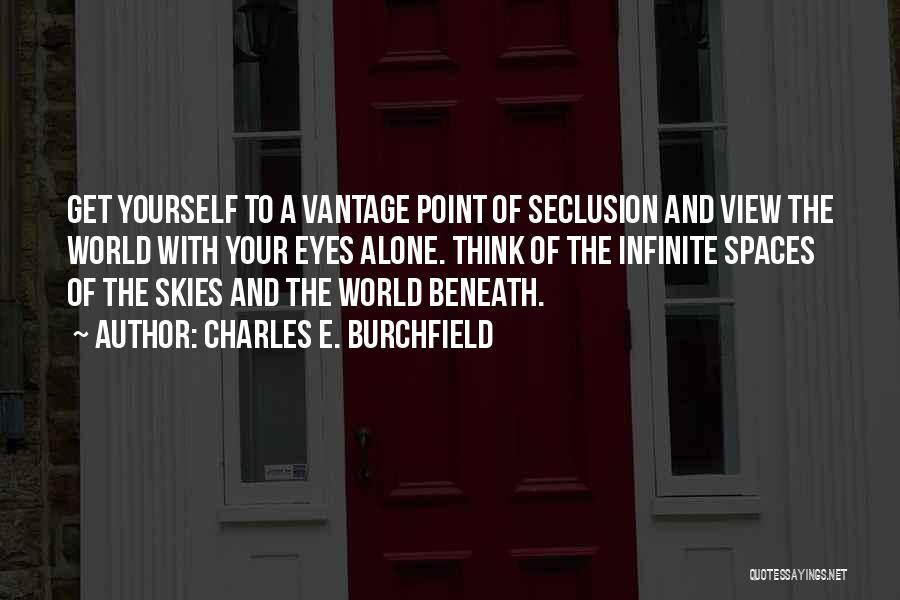 Charles E. Burchfield Quotes 1142782