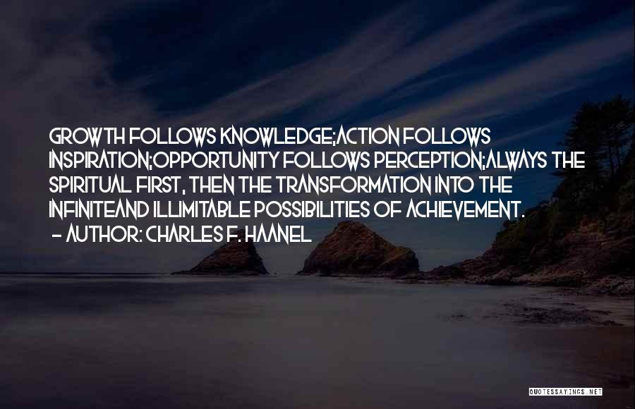 Charles F. Haanel Quotes 1014346