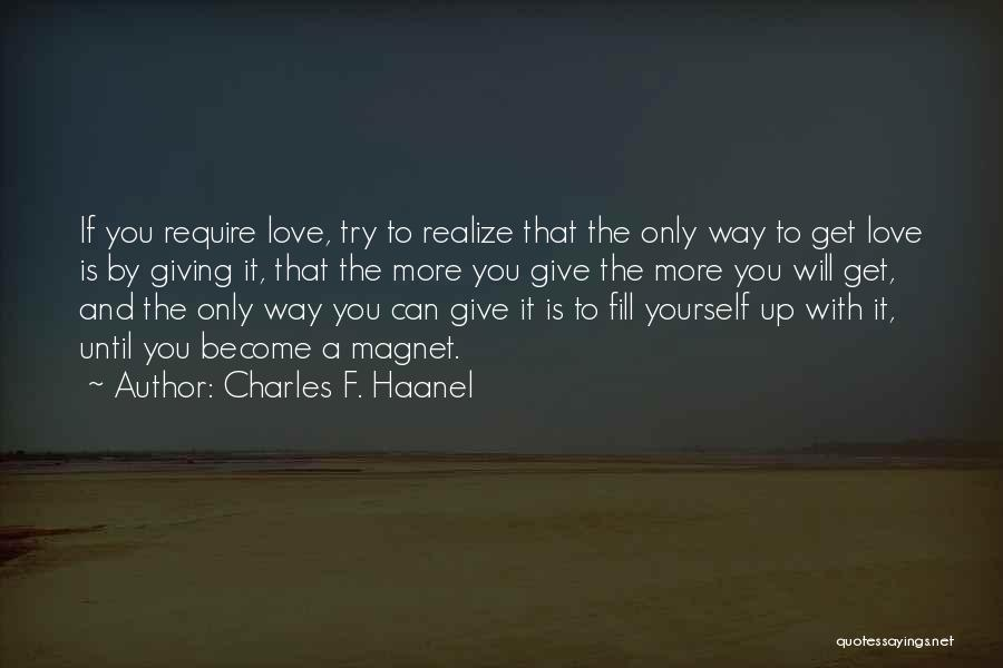 Charles F. Haanel Quotes 1447424