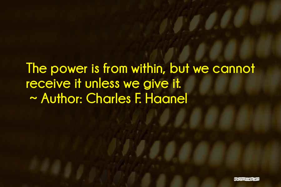 Charles F. Haanel Quotes 156437