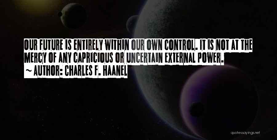 Charles F. Haanel Quotes 186374