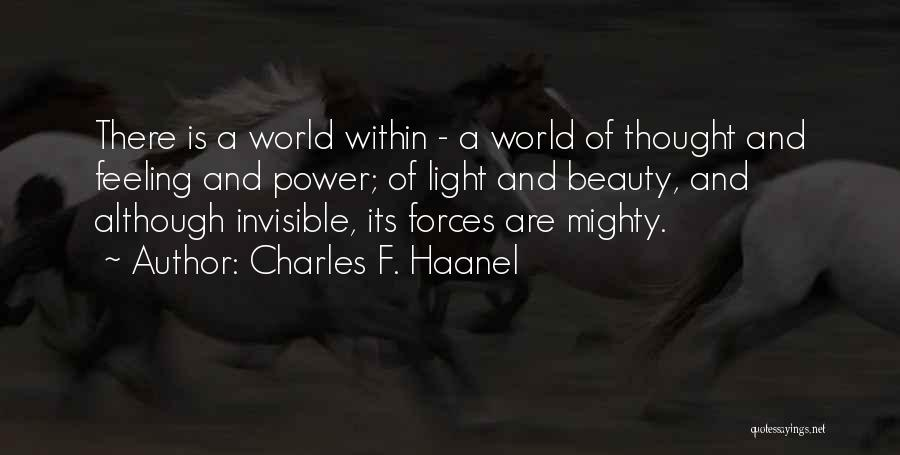 Charles F. Haanel Quotes 1919040