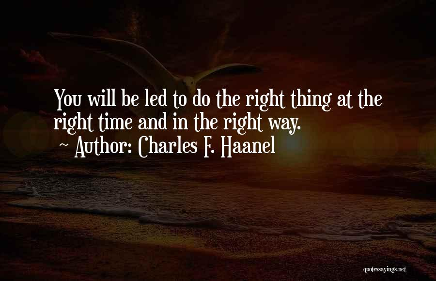 Charles F. Haanel Quotes 2022812