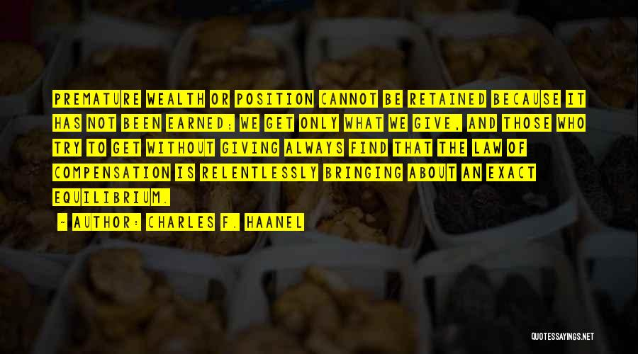 Charles F. Haanel Quotes 234221