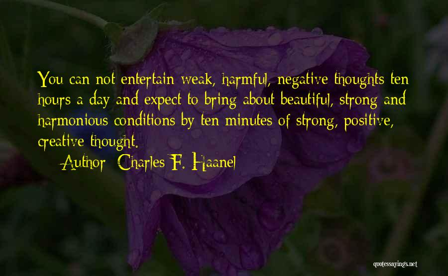 Charles F. Haanel Quotes 333681