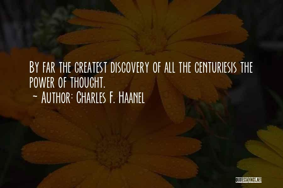 Charles F. Haanel Quotes 866610
