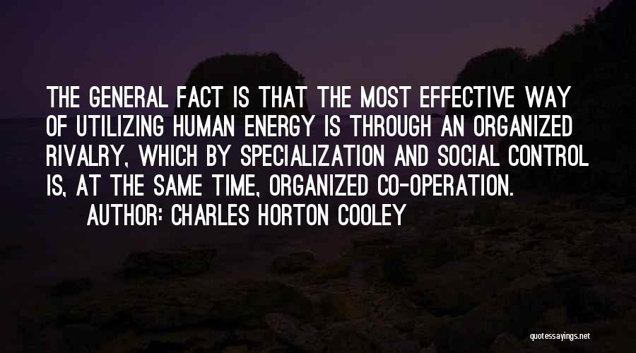 Charles Horton Cooley Quotes 1120565