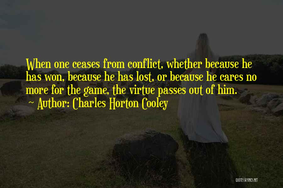 Charles Horton Cooley Quotes 1142316