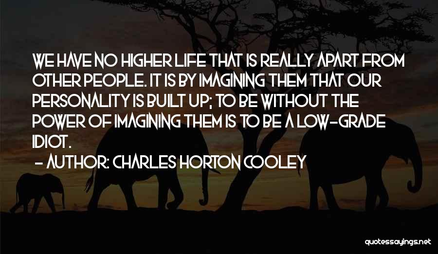 Charles Horton Cooley Quotes 1242649