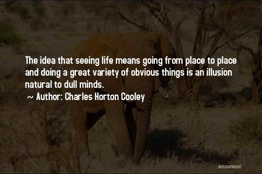 Charles Horton Cooley Quotes 1443893