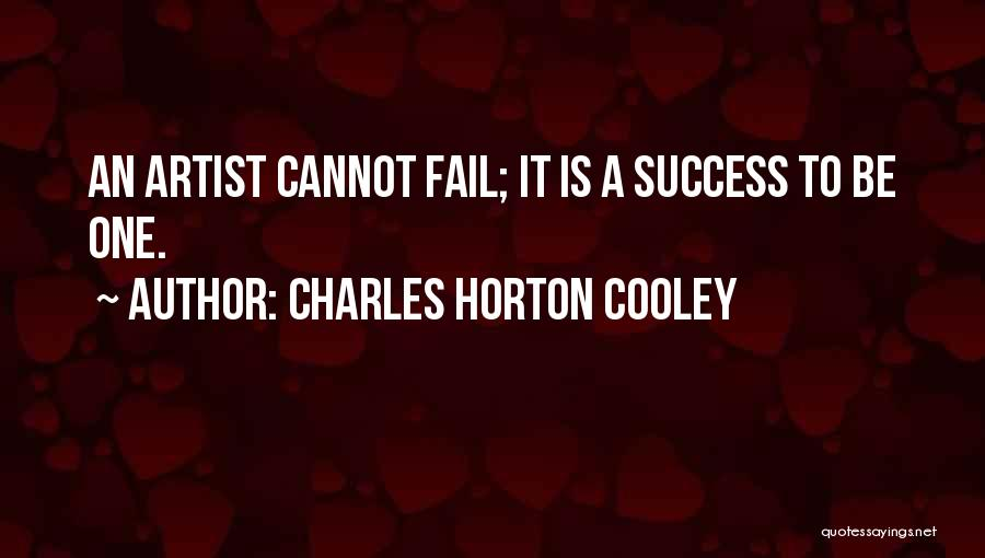 Charles Horton Cooley Quotes 1568473
