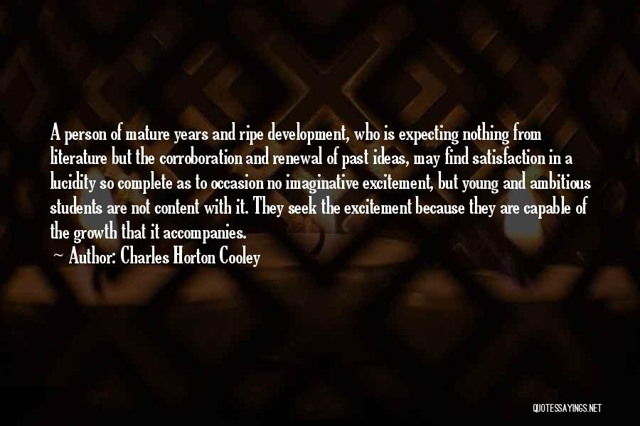Charles Horton Cooley Quotes 1592505