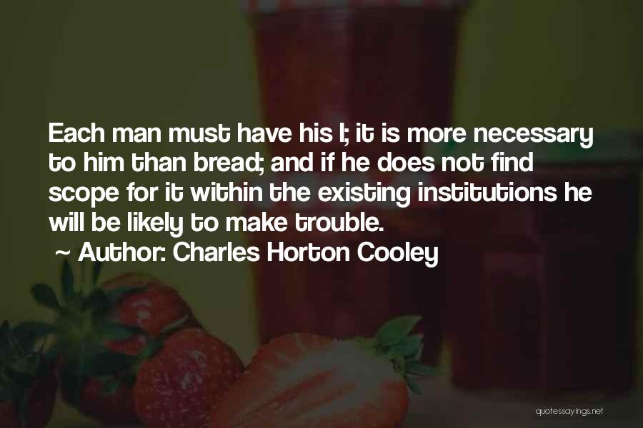 Charles Horton Cooley Quotes 1601057