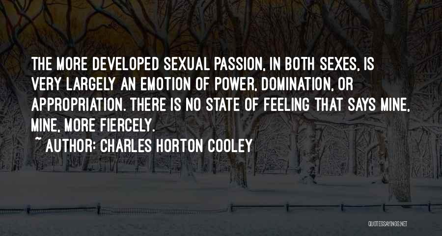 Charles Horton Cooley Quotes 1627779