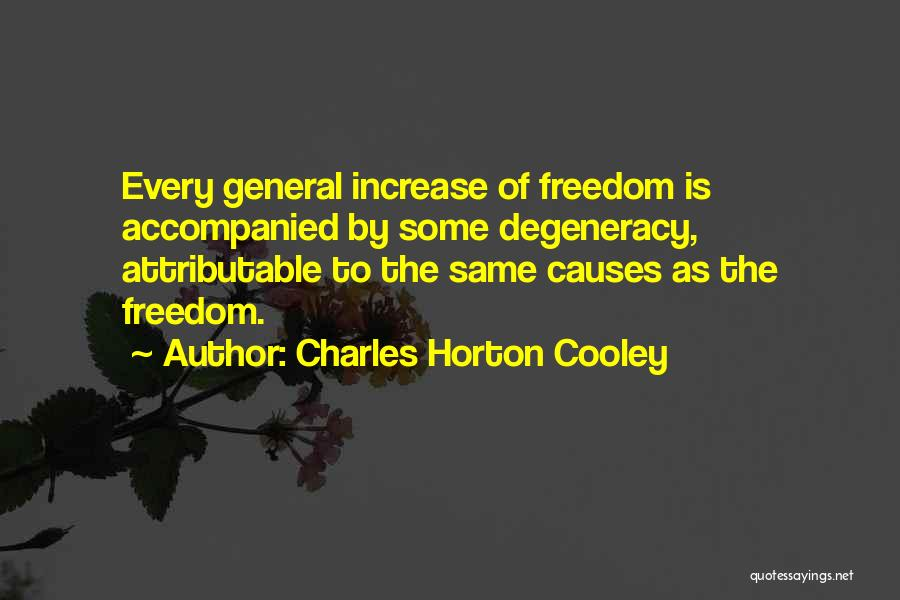 Charles Horton Cooley Quotes 1850838