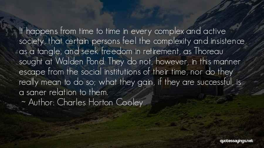 Charles Horton Cooley Quotes 2168441