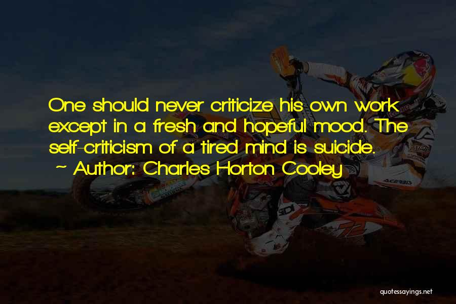 Charles Horton Cooley Quotes 2221020