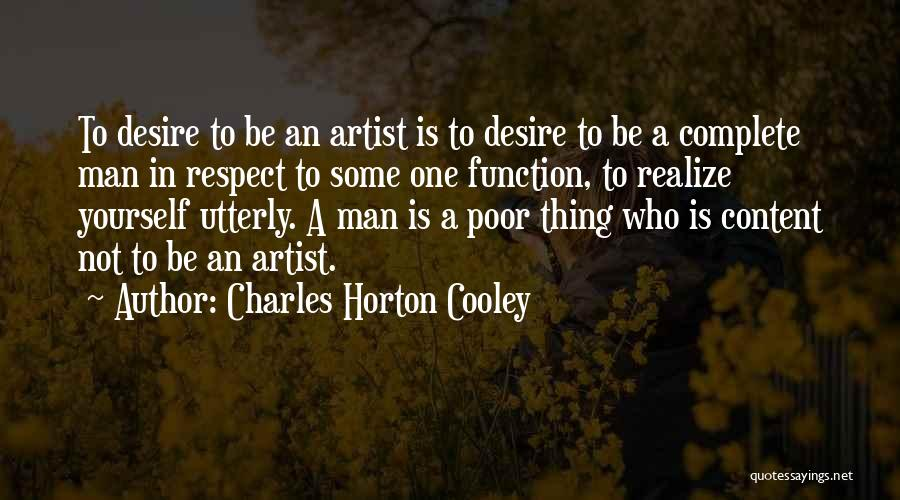 Charles Horton Cooley Quotes 379297