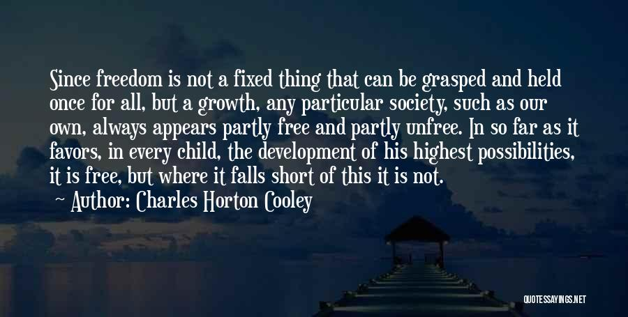 Charles Horton Cooley Quotes 391335