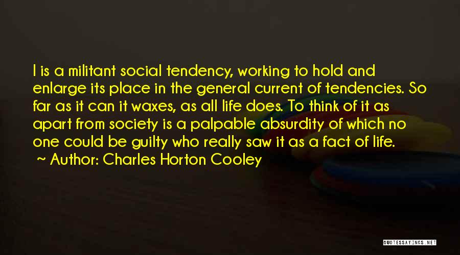 Charles Horton Cooley Quotes 638418