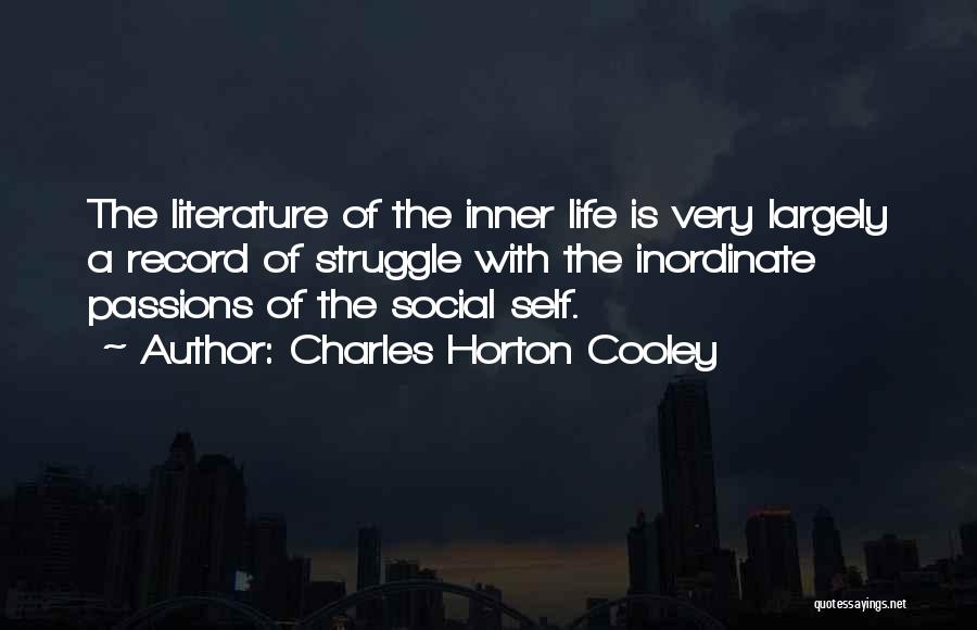 Charles Horton Cooley Quotes 761695