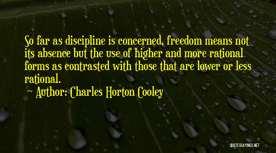 Charles Horton Cooley Quotes 780368