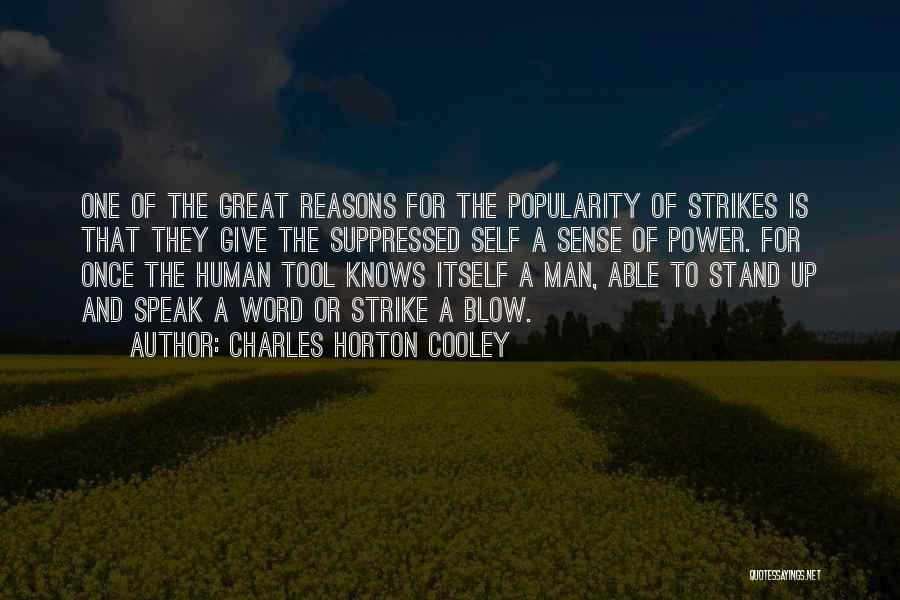 Charles Horton Cooley Quotes 84133