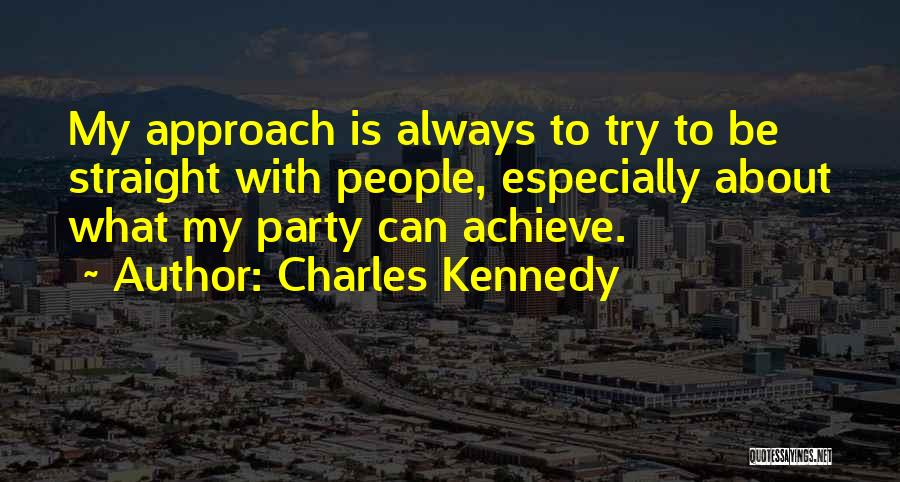 Charles Kennedy Quotes 1950523