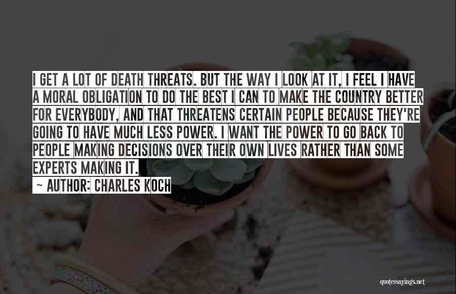 Charles Koch Quotes 311991