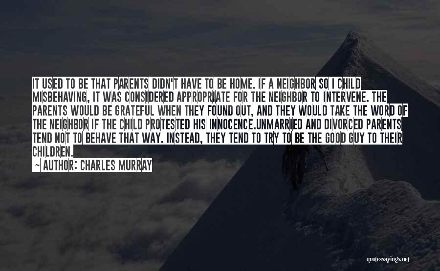 Charles Murray Quotes 413529