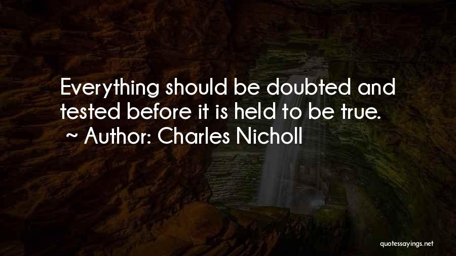 Charles Nicholl Quotes 620174