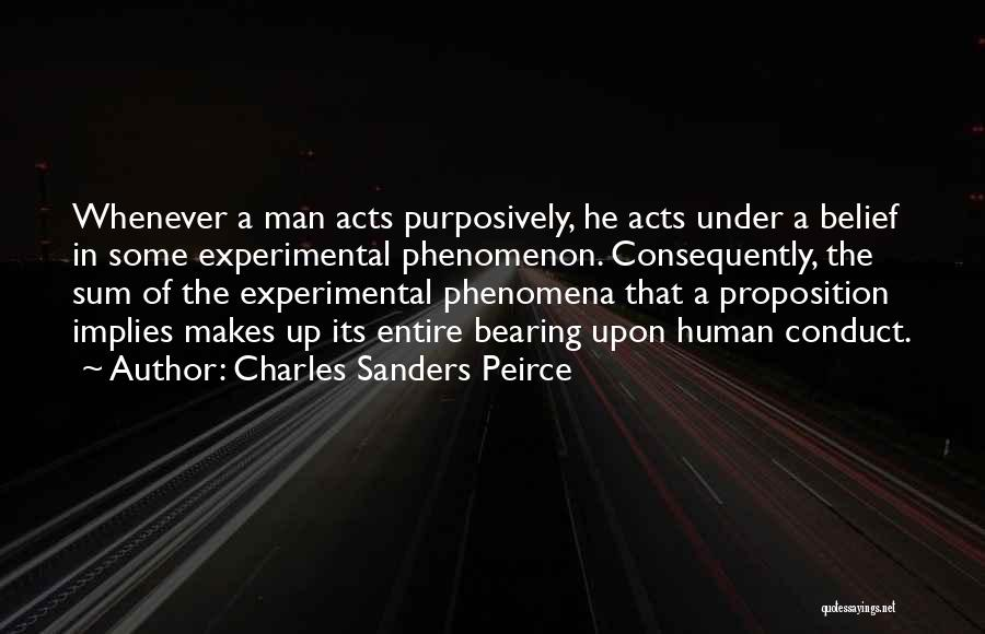 Charles Sanders Peirce Quotes 1154807