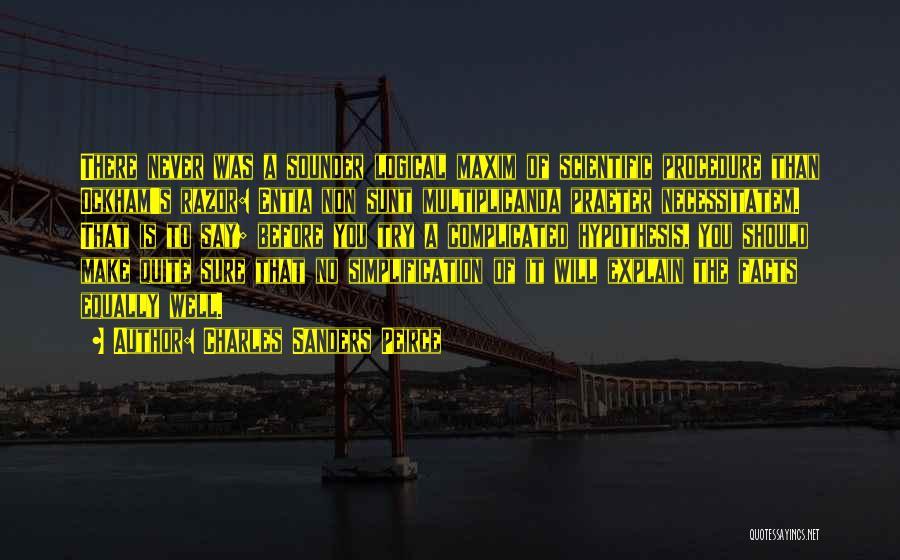 Charles Sanders Peirce Quotes 1699110