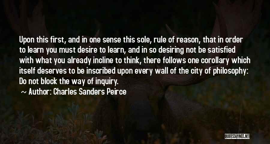Charles Sanders Peirce Quotes 2017377