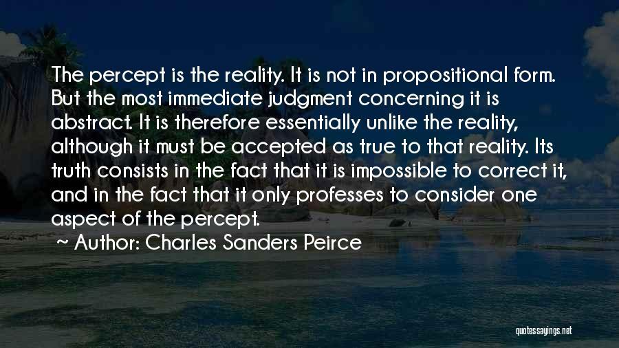 Charles Sanders Peirce Quotes 210273