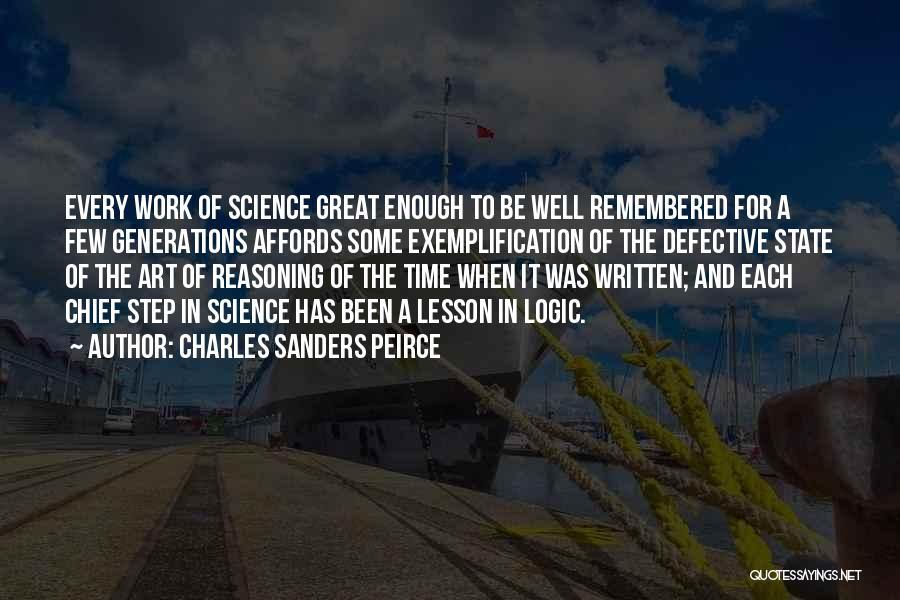 Charles Sanders Peirce Quotes 2252169