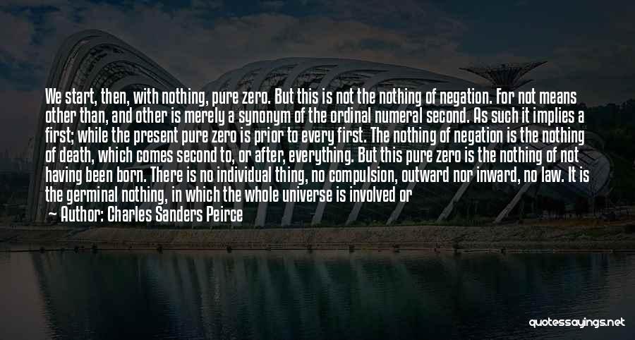 Charles Sanders Peirce Quotes 253979