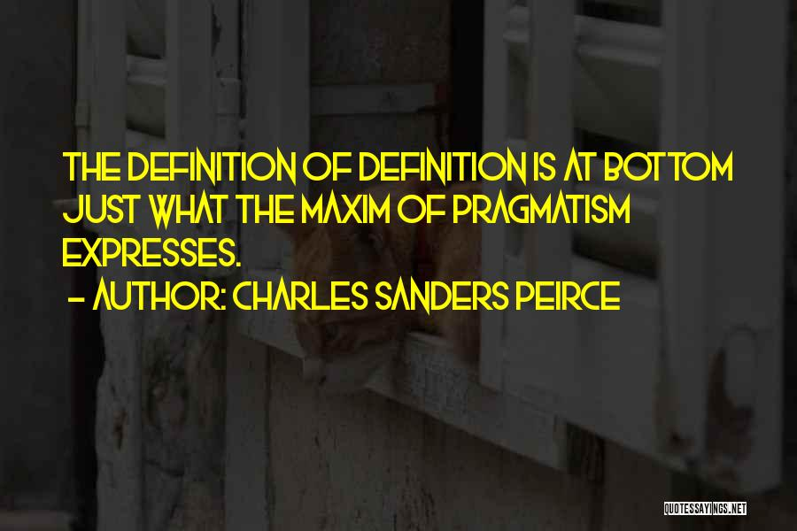 Charles Sanders Peirce Quotes 276540