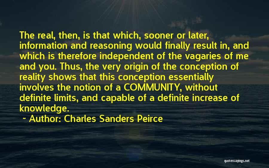 Charles Sanders Peirce Quotes 689632