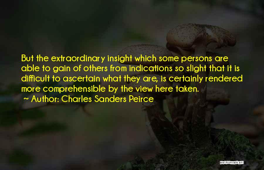 Charles Sanders Peirce Quotes 935216