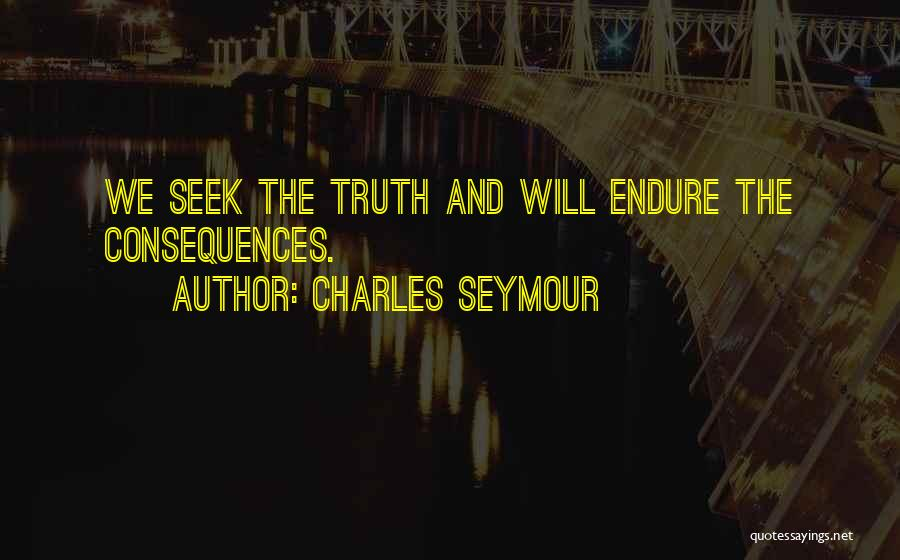 Charles Seymour Quotes 1408410