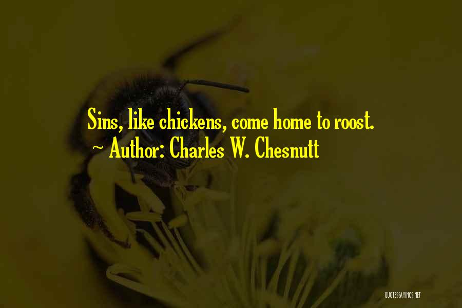 Charles W. Chesnutt Quotes 1617213