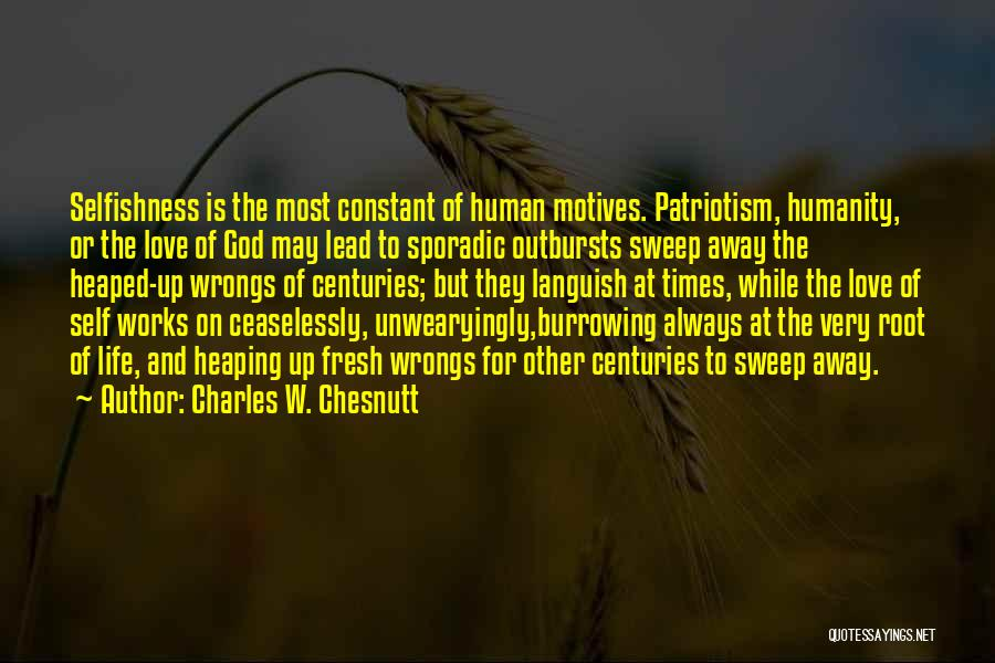 Charles W. Chesnutt Quotes 1785183