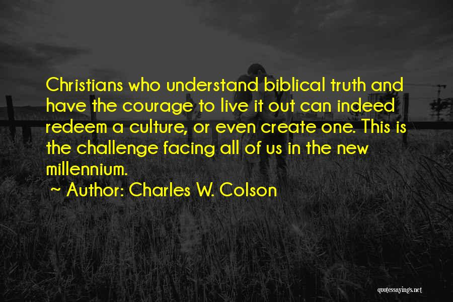 Charles W. Colson Quotes 125716