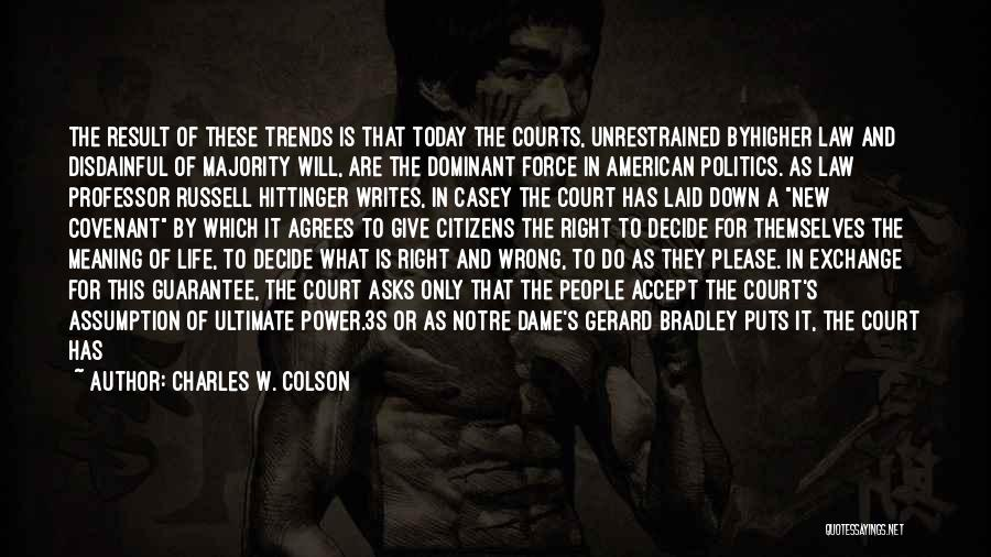Charles W. Colson Quotes 1605933