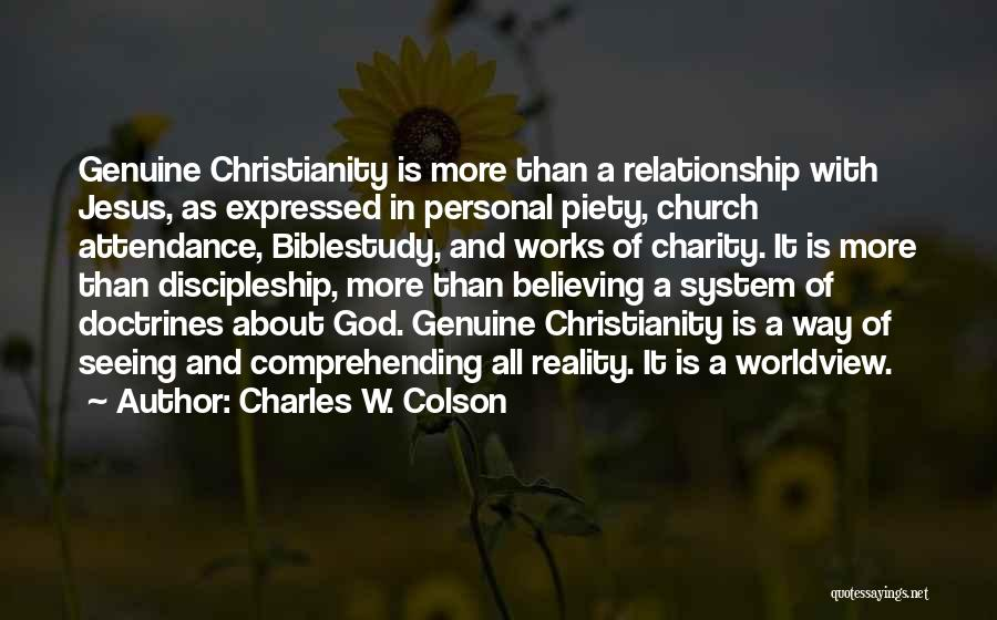 Charles W. Colson Quotes 1709373