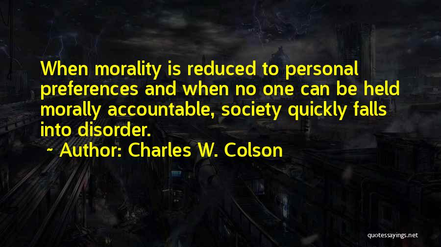 Charles W. Colson Quotes 1938052