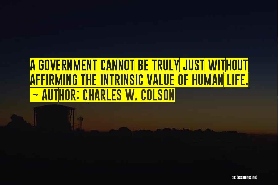 Charles W. Colson Quotes 2208356