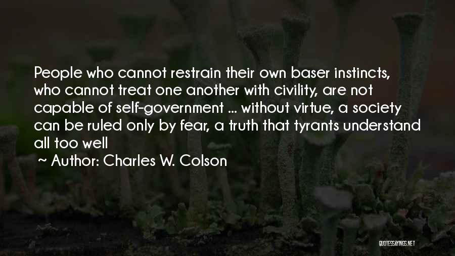 Charles W. Colson Quotes 278267